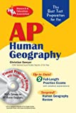 img - for AP Human Geography w/ CD-ROM (REA) - The Best Test Prep (Advanced Placement (AP) Test Preparation) by Dr. Christian Sawyer (2008-02-08) book / textbook / text book