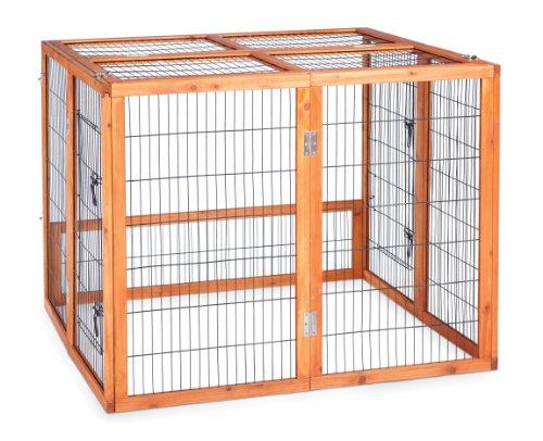 Rabbit Hutch Playpen - Prevue Hendryx 461PEN Pet Products Rabbit Playpen, Large