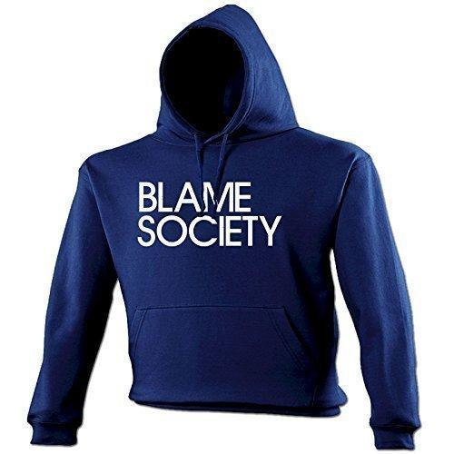 4067fcc6d8 BLAME SOCIETY - NEW PREMIUM HOODIE (VARIOUS COLOURS) S M L XL 2XL 3XL 4XL  5XL - by 123t: Amazon.co.uk: Clothing