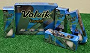 2 Dozen Volvik Crystal White Golf Balls - New in Box