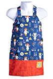 arts and crafts kitchen Bailey Bug Toddler STEM Science on Blue Play Apron for Girls and Boys Arts, Crafts, Experiments and Kitchen Fun (Large)