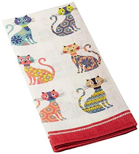 Ulster Weavers Groovy Cats Linen Tea Towel