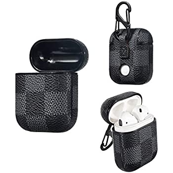Amazon.com: AirPods Case, Luxury PU Leather Airpods Case