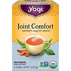 Yogi Tea, Joint Comfort, 16 Count (Pack of 6), Packaging May Vary
