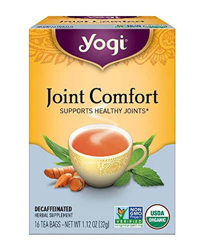 Cats Claw Tea Bags (Yogi Tea, Joint Comfort, 16 Count (Pack of 6), Packaging May Vary)