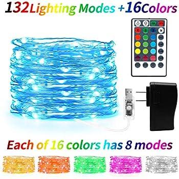 Amazon Com 4 Fq Fairy String Lights Usb Fairy Lights Plug