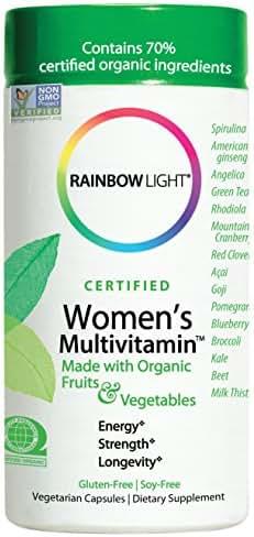 Multivitamins: Rainbow Light Women's Multivitamin
