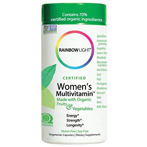 Rainbow Light – Certified Women s Multivitamin Count, 120 Count