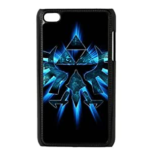 The Legend of Zelda for Ipod Touch 4 Cell Phone Case & Custom Phone Case Cover R48A651505