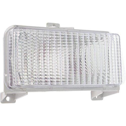 Evan-Fischer EVA22272012771 Parking Light for Chevrolet Van Full Size 83-91 Right or Left Lens and Housing Single Head Lamps Right or Left Side