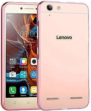 PREVOA ® 丨 Metal Frame Funda Cover Case Protictive Carcasa para Lenovo Vibe K5 / K5 Plus Smartphone: Amazon.es: Electrónica