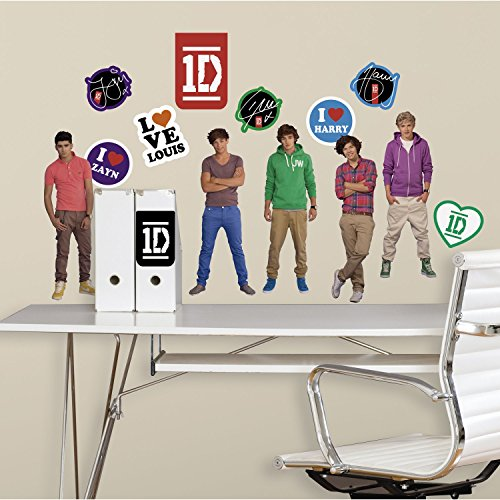 RoomMates RMK2135SCS 1-Direction Peel and Stick Wall Decal (Best One Direction Merchandise)