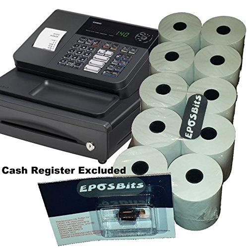 eposbits® Marke * * Essentials Pack * * für Casio 140CR 140CR Cash Register (10Rollen + 1Tinte)