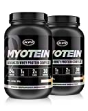 Myotein Premium Protein (French Vanilla) 2 Pack – Best Whey Protein Powder / Shake – Hydrolysate, Isolate, Concentrate & Micellar Casein