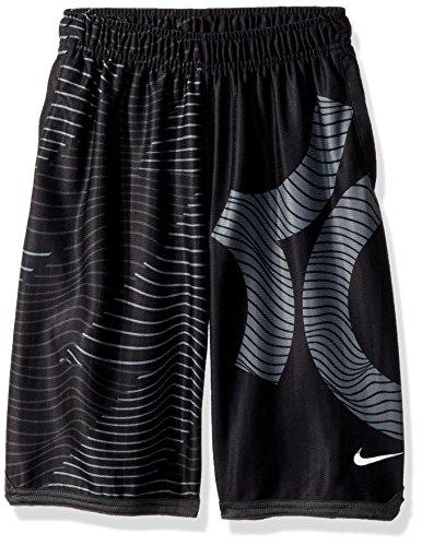 Nike Big Boys (8-20) KD Surge Statement Basketball Shorts-Black-Medium