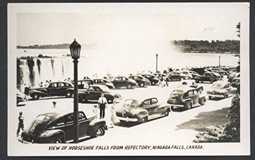 Niagara Falls Horseshoe CANADA Real Photo RPPC Postcard