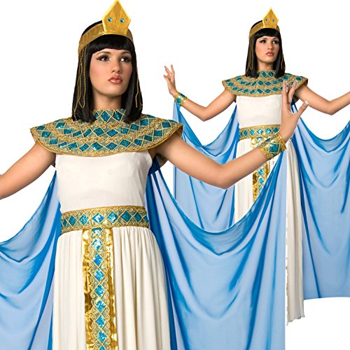 Womens Egyptian Queen of the Nile Cleopatra Costume - 5 Piece Quality (Cleopatra Headpieces)