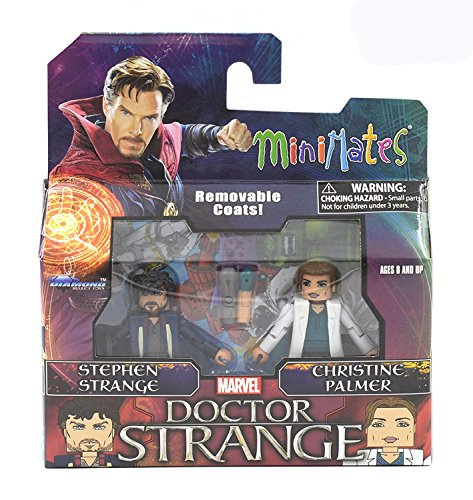 Marvel Minimates Series 70 Doctor Strange Movie Stephen Strange & Christine Palmer 2-Pack
