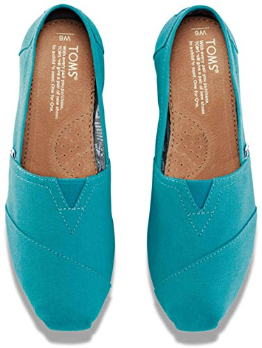 Toms Womens Low Top Scarpe Casual Leggere Blu