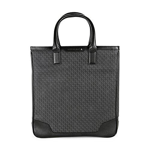 Montblanc homme sac de transport/sac fourre-tout, «nightflight 106757 cuir noir