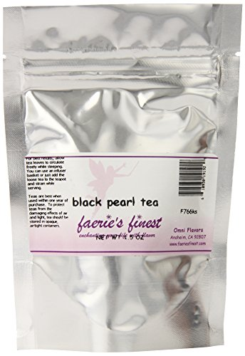 Faeries Finest Black Pearl Tea, 1.50 Ounce