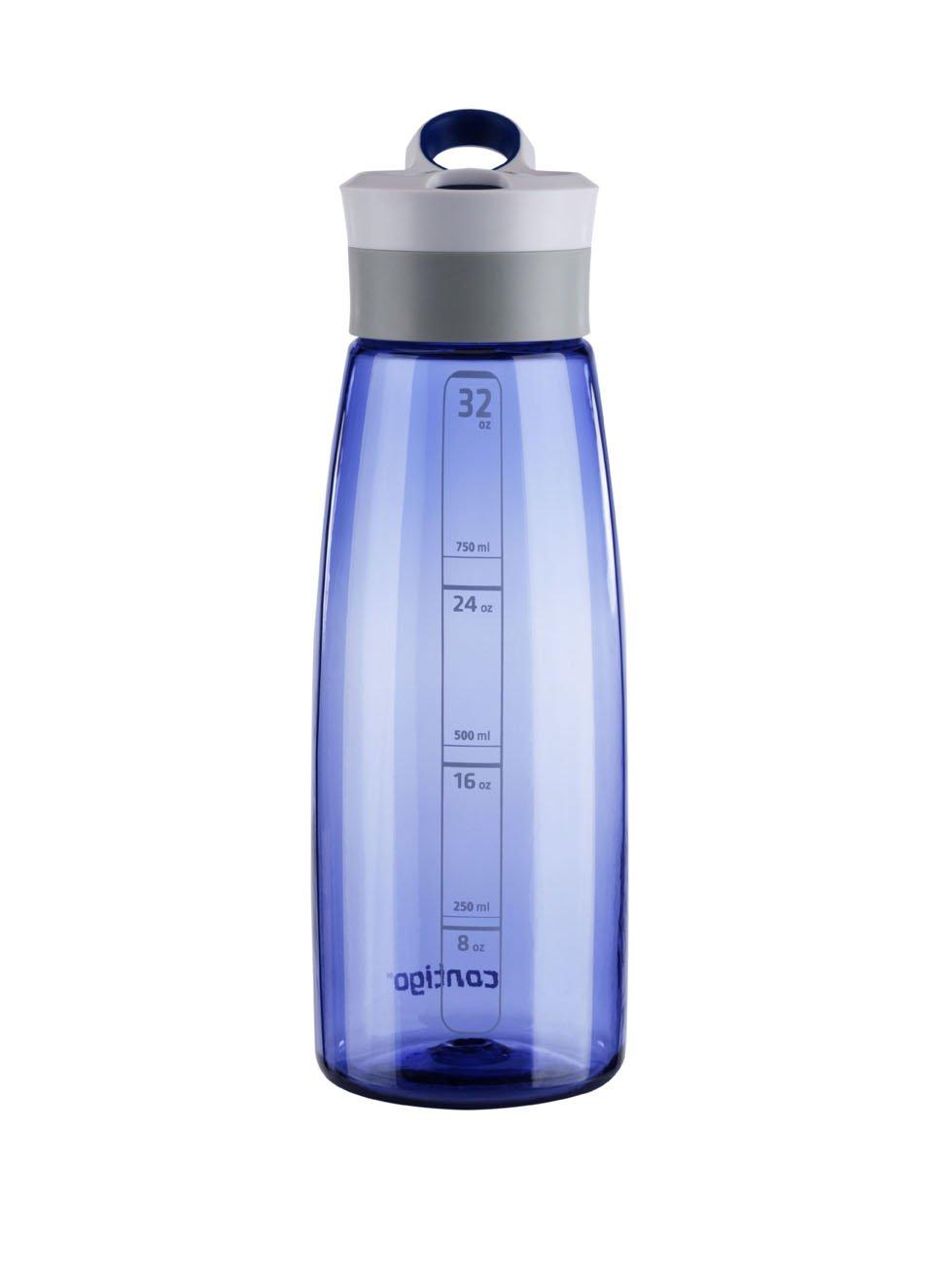 535e8b6046 Amazon.com: Contigo AUTOSEAL Grace Reusable Water Bottle, 32oz, Cobalt:  Kitchen & Dining