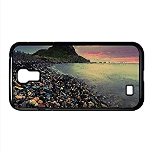Lindisfarne Castle Watercolor style Cover Samsung Galaxy S4 I9500 Case (United Kingdom Watercolor style Cover Samsung Galaxy S4 I9500 Case)