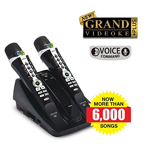GRAND VIDEOKE SYMPHONY 2.0 PLUS (TKR-372 PLUS) - NOW, WITH MORE THAN 6,000 SONGS! (Symphony Plus compare prices)