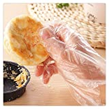 FTXJ 90pcs Disposable Gloves Restaurant Home BBQ Service Catering Hygiene