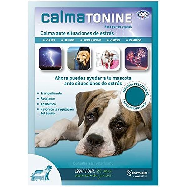 Farmadiet Calmatonine Envase con 120 Comprimidos para Perros y Gatos en Situaciones Estresantes: Amazon.es: Productos para mascotas
