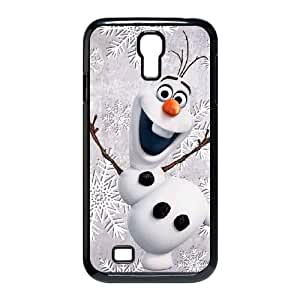 Olaf Frozen Samsung Galaxy S4 9500 Cell Phone Case Black Phone Accessories JV291578