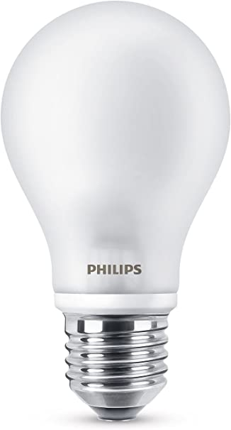 Image ofPhilips Bombilla LED Estándar E27, 8.5 W, luz blanca cálida           [Clase de eficiencia energética A++]