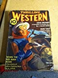 img - for Thrilling Western, July, 1936, Vol X No 1 book / textbook / text book