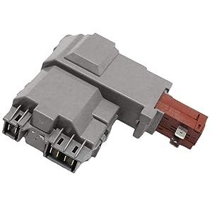 ZIBEE 131763202 Washer Door Lock Wax motor For Frigidaire Kenmore 131763255 131763256,0131763202 131269400 131763200 131763245 AP4455026 Washing Machine Lid Switch
