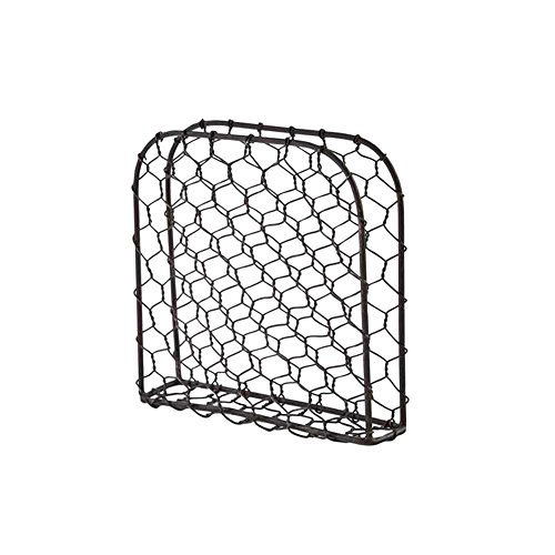 Chicken Wire Metal Lunch Napkin Holder