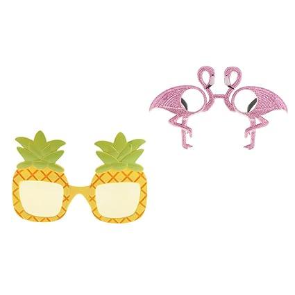 F Fityle 2pcs Gafas De Sol Divertidas del Flamenco De Las ...