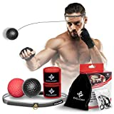 Boxing Reflex Ball, Complete Boxing Set with 2