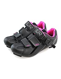 Ftiier Ladies self-locking shoes professional breathable bike road lock shoes triathlon shoes