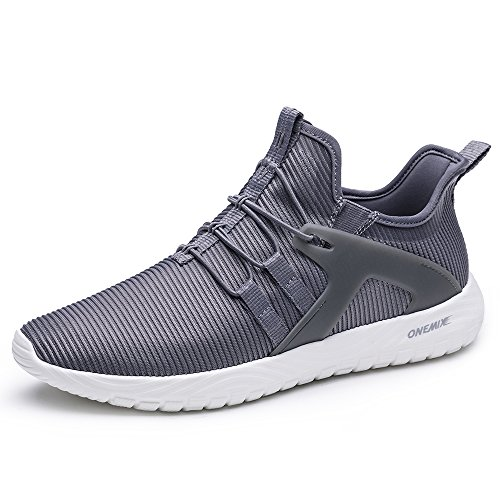 Image of ONEMIX Slip-On Running Shoes Men - Lightweight Casual Sports Cushioning Gym Sneakers