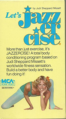 Let's Jazzercise by Judi Sheppard Missett [VHS] by Universal Studios Ho