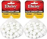 "Daisy 8383 1/2"" Glass Slingshot Ammo, 2 Pack (Original)"