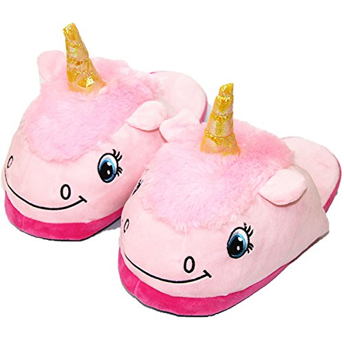 Cute Slippers Women more Fur Unisex 121 Home Shoes Cartoon shopping Unicorn Adult AwqFRIAY