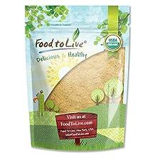 Food to Live Certified Organic Maca Root Powder (Non-GMO, Raw Ground Maca Root, Flour, Bulk) (1 Pound)