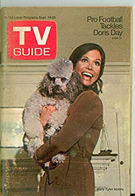 1970 TV Guide Sep 19 Mary Tyler Moore Show (First Cover) - Kentucky Edition Very Good to Excellent (4 out of 10) Used Cond. by Mickeys Pubs