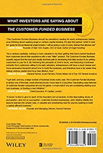 The Customer-Funded Business: Start, Finance, or Grow Your Company with Your Customers' Cash by Wiley
