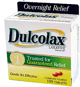 Amazon Com Dulcolax Laxative Tablets Overnight Relief