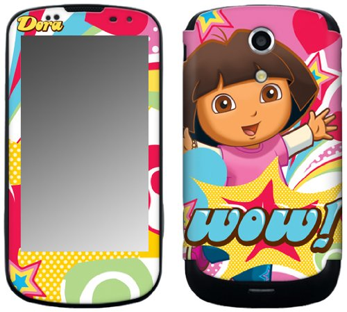 MusicSkins, MS-DORA30215, Dora The Explorer - Pop Denim, Samsung Epic 4G Galaxy S (SPH-D700), Skin