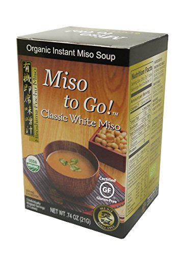 Japan Gold Miso to Go! - Classic White Miso, 0.74 Ounce (Best Miso Soup Recipe)