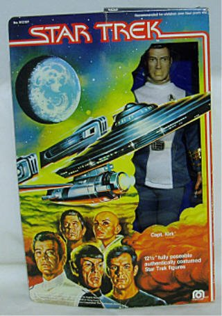 1979 12 Inch Mego Star Trek The Motion Picture Captain Kirk Poseable Action Figure (Mego Star Trek Kirk)