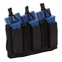 Sandpiper of California Triple Shingle M16 Pouch with Pistol Mags, Black